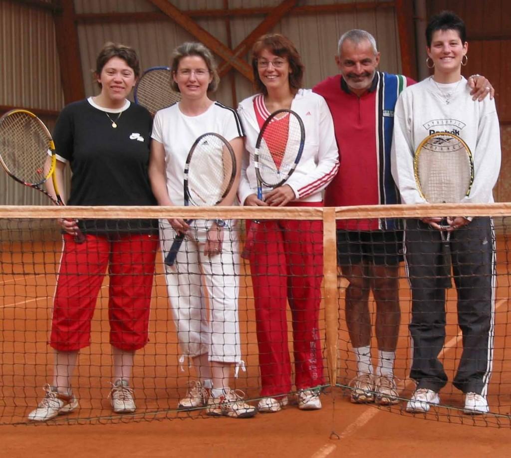 Photo : équipe féminine - 2008-2009