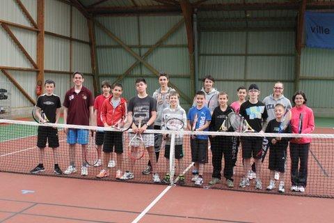 Ecole de tennis 2012 - 2013